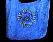 Peaceful Women's Blue Flower Jewelry