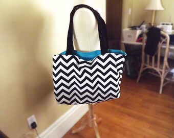 Reversible Large Tote (Patterned)