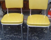 A Pair of Adorable Retro Chairs