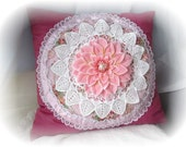 PINK PILLOW Romantic Layered Shabby Chic