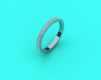 Pave eternity band