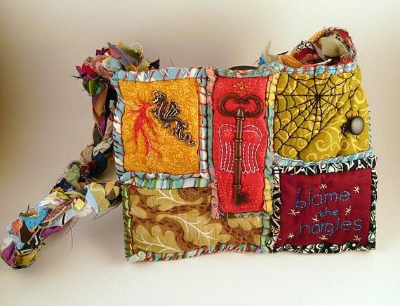 Harry Potter Mini Patchwork Bag