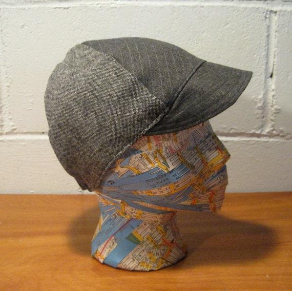 Handmade Wool Cycling Cap LG