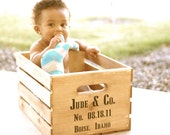 Custom Keepsake Wooden Crate