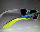 Toaster Shades Custom Handpainted Knock Around wayfarer style Sunglasses