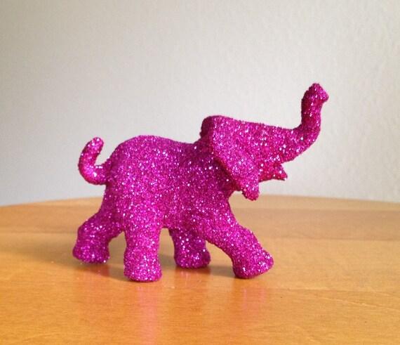 Lila The Glitter Bombed Elephant