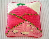 Mini pillow - front and back