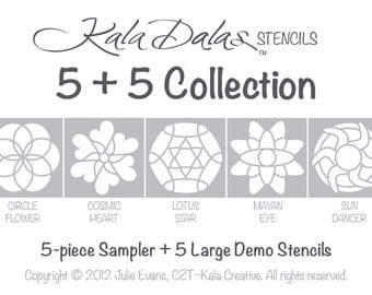 KalaDalas 5-Plus-5 Collection in Cardstock