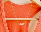 Moonstone necklace, gold necklace, moonstone necklace. 14k gold fill, gemstone necklace, white stone, bridesmaid necklace, moonstone jewelry