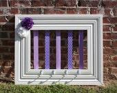 Custom Bow Holder - Purple & Lavender
