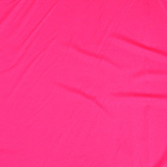 Swimwear Lycra Fabric In Hot Pink Color 40 X 60 Inch