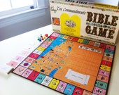 Ten Commandments Bible Game Vintage Board Game