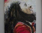 Bob Marley- Finger Painted