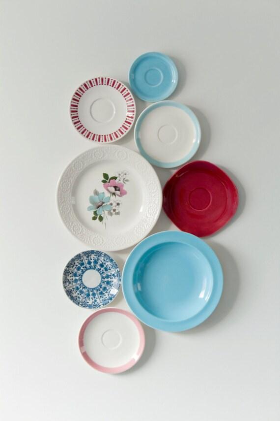 "Decorative vintage wall plates ""Sunday Breakfast"""