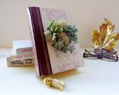 Eco Succulent Book Planter Pink Wine Succulent Centerpiece Book Lover Succulent Lover Garden Lover // Lil Lady