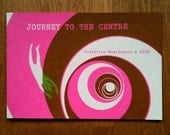 Journey to the Centre, screenprinted artist's book. 15 / 100