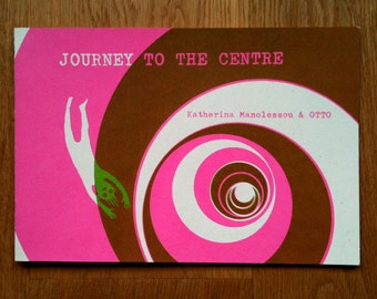 Journey to the Centre, screenprinted artist's book.