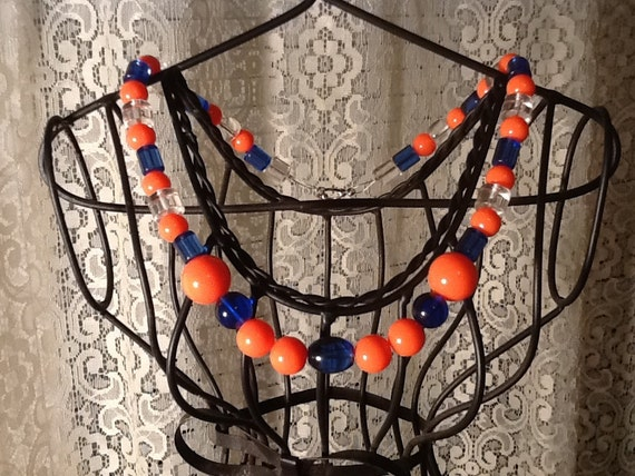 50% OFF - Necklace representing Auburn colors