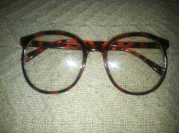 RESERVED FOR Jamilla: Tortoise Shell Brown Hipster Glasses