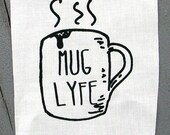 Mug Lyfe screenprint patch