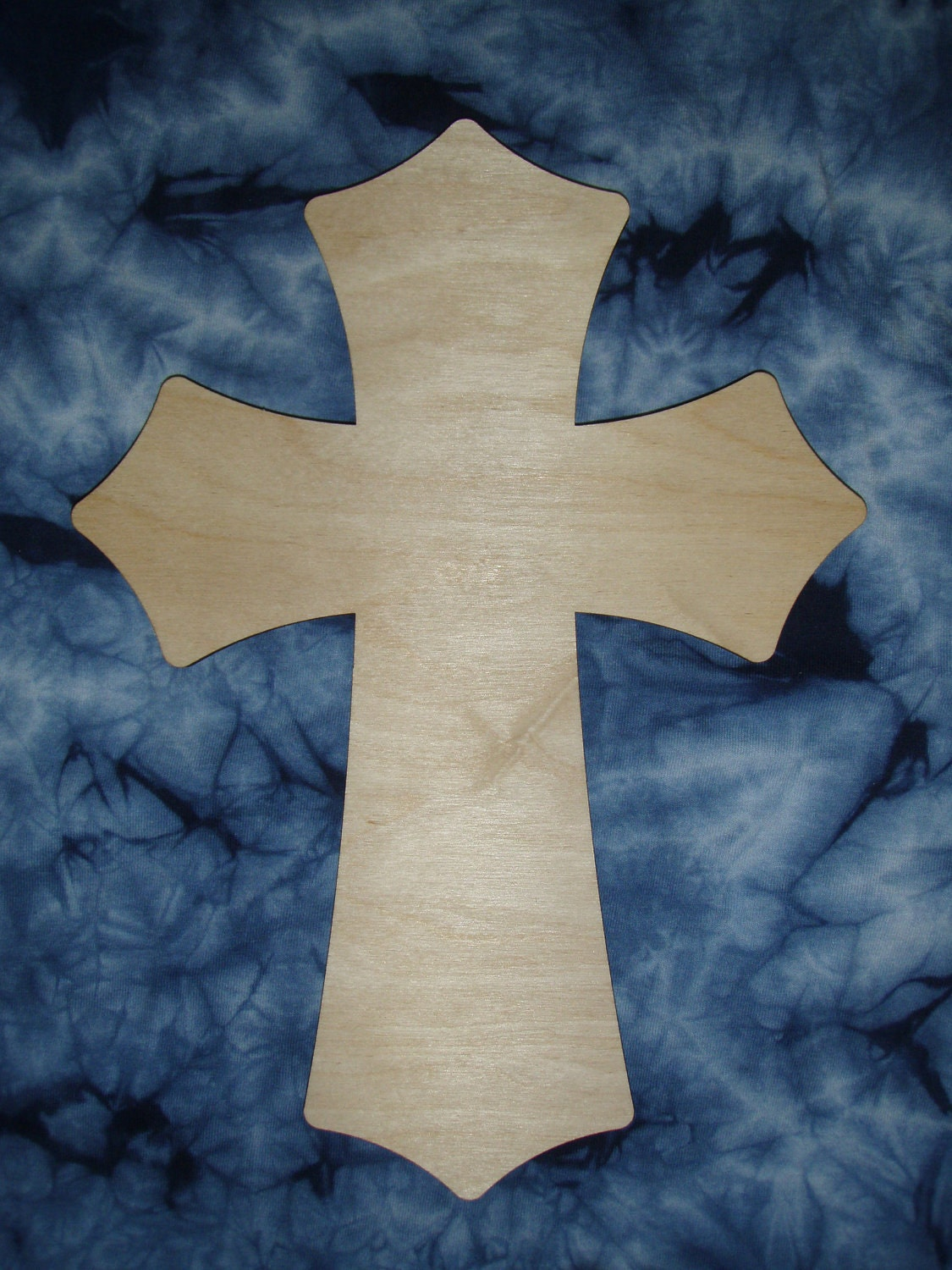 Unfinished wooden crosses for crafts -  Zoom