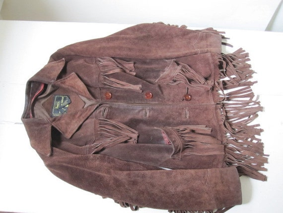 Easy Rider Sears Hippie Suede Jacket with Fringe