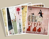 8 postcards of limited edition collection