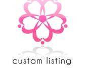 Custom Listing for Teresa (poorteesa)