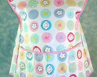 Pastel Smiling Kids Cobbler Apron, Girl's