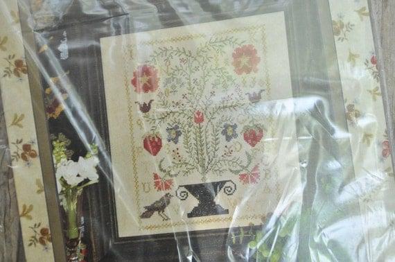 Blackbird designs strawberry garden loose feathers by for Blackbird designs tending the garden