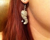 Tornado with House Earrings