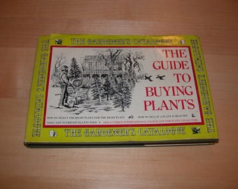 ON SALE The Guide To Buying Plants by Tom Riker