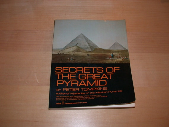 Secrets of  the Great Pyramid by Peter Tompkins