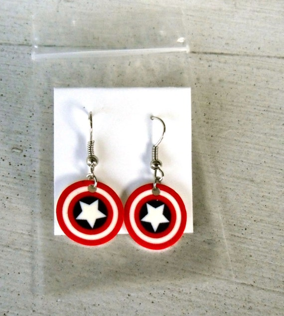 captain america earrings unavailable listing on etsy 6026