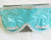 Audrey Hepburn Eye Mask and ear muff From Breakfast at tiffanys - Silver