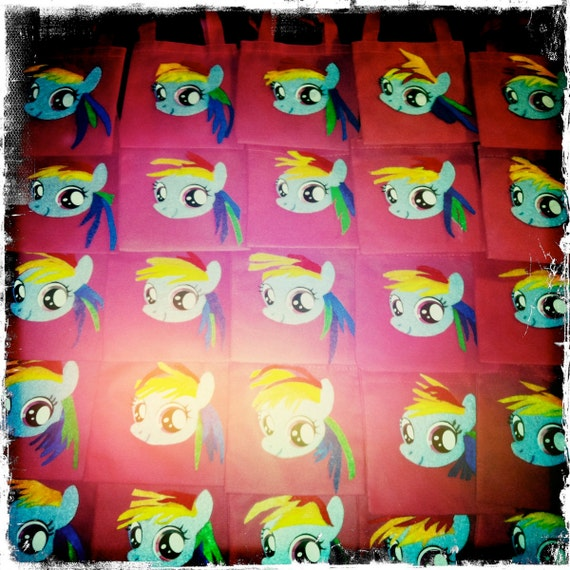 My Little Pony Goody Bags (Rainbow Dash) FOR JACQUILINE