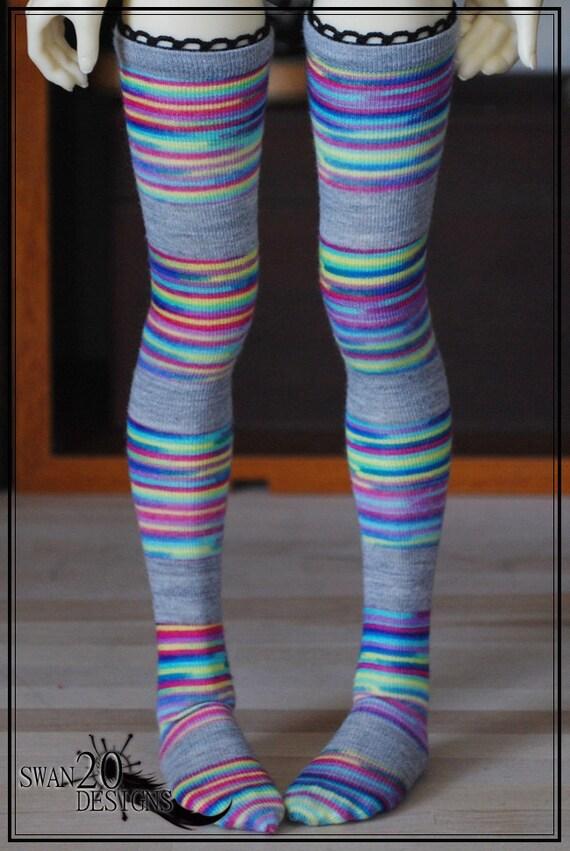 Swan20 Designs Stockings Unoa Dollmore Volks Kaye Wiggs MSD Annabella/Nyssa/Layla 295