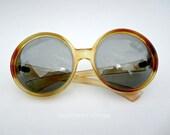 vintage sunglasses Polaroid  Cool-Ray  Social Eyes 1960s round