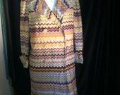 Missoni Vintage pastel coat