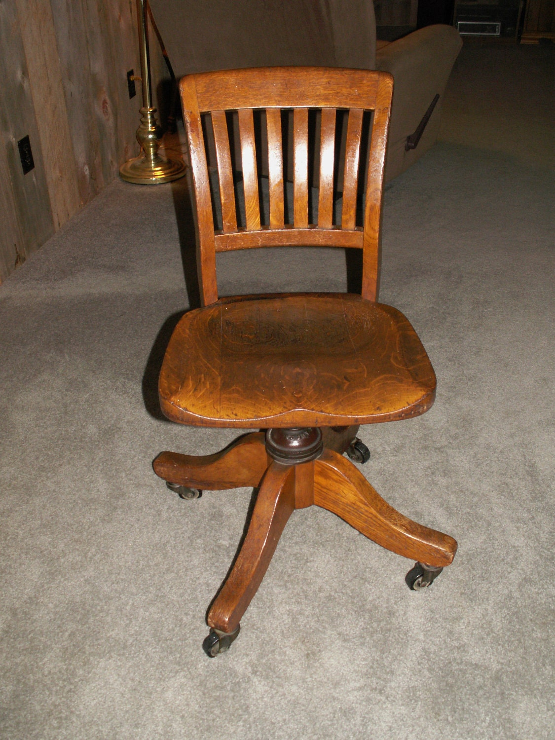 b b chair vintage b l marbles oak office chair