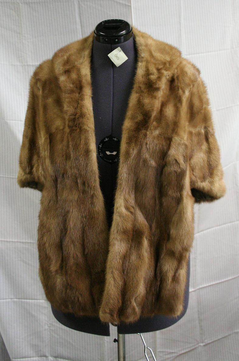 Vintage mink fur stole 1950s for Kunstleder fur stuhle