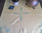 Hand Stamped Altar Cloth