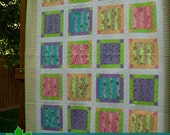 Quilt Pattern - Crayon Box - Queen Size pattern