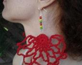 Efayes Art Crochet Earring