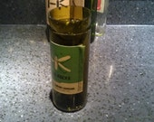 Recycled Wine Bottle Vase Hydroponic Grower