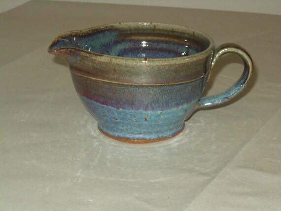 Pottery Mixing Bowl, Ceramic Mixing Bowl, Clay Mixing Bowl