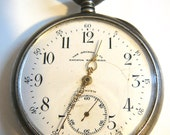 Antique Pocket Watch Sterling Silver Grand Prix Paris 1900