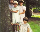How to - Heirloom Sewing Book. The Smocked Bishop Dress from start to finish. Vintage Girl Dress Pattern