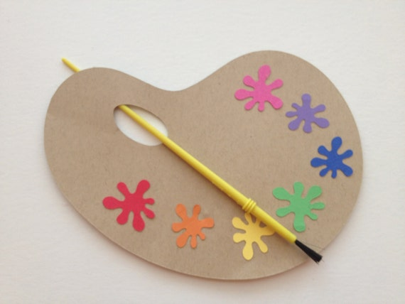 Arts and Crafts/Pottery Painting Birthday Invitation