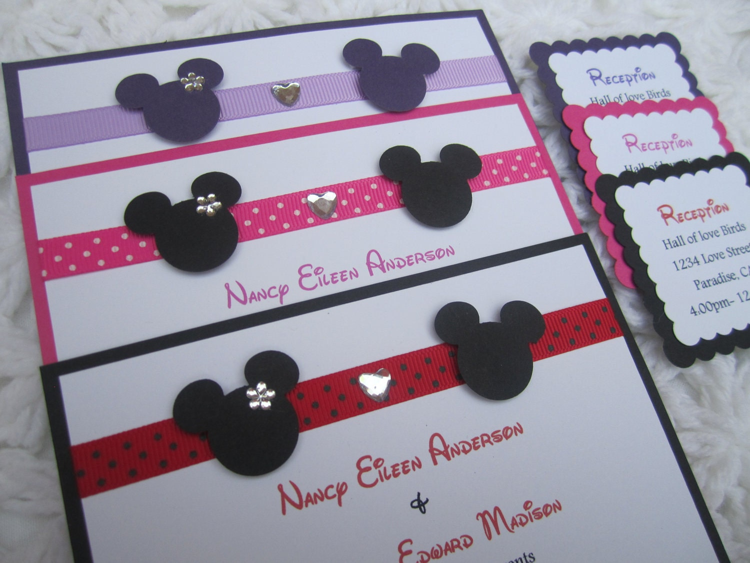 Handmade Mickey Mouse Invitations was adorable invitations example